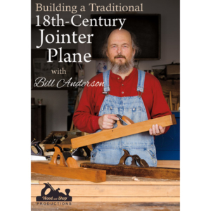Building an 18th Century Jointer Plane with Bill Anderson hand plane cover