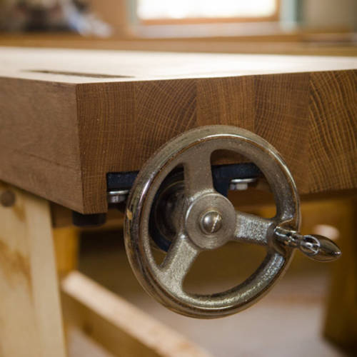 Wagon Vise or Tail Vise for Moravian Workbench
