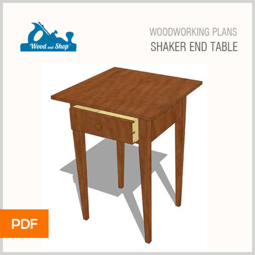 shaker table woodworking plans